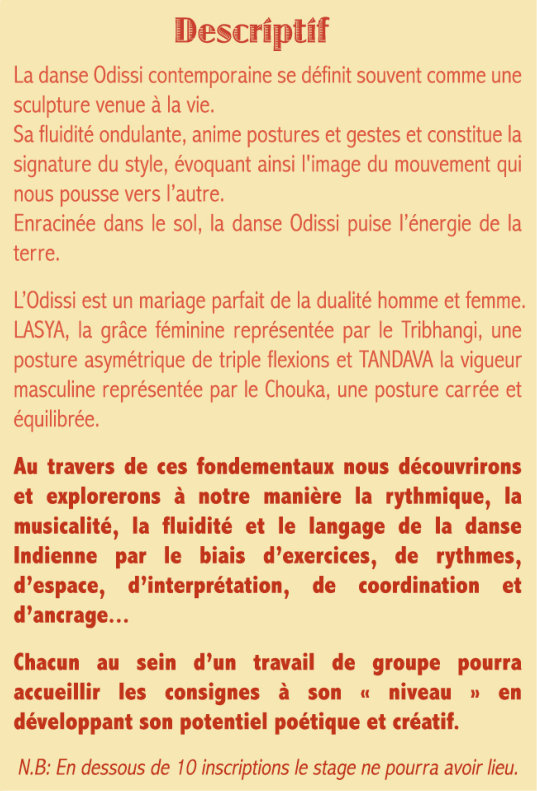 Descriptif Danse Indienne Odissi-1